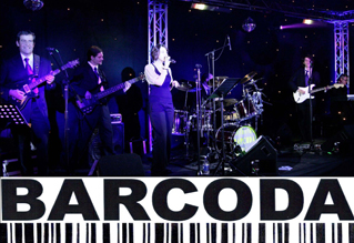 Barcoda function Band Barcoda are a five piece professional function band for every occasion. Whether you are getting married, celebrating a special birthday, anniversary or corporate event, Barcoda would love to have the privilege of helping you make your special day an even more memorable one. Barcoda travel anywhere nationally and internationally to perform. Please visit our website for more information, videos, set lists and contact information.
