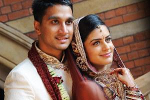 Kiran jethwa wedding