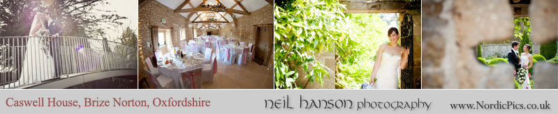 Neil Hanson recommended Wedding Photographer for Caswell House Oxfordshire