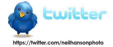 Neil Hanson Twitter Page