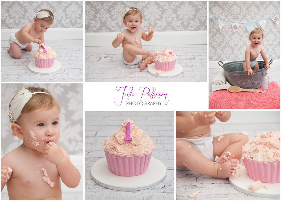 Cake smash photographer essex